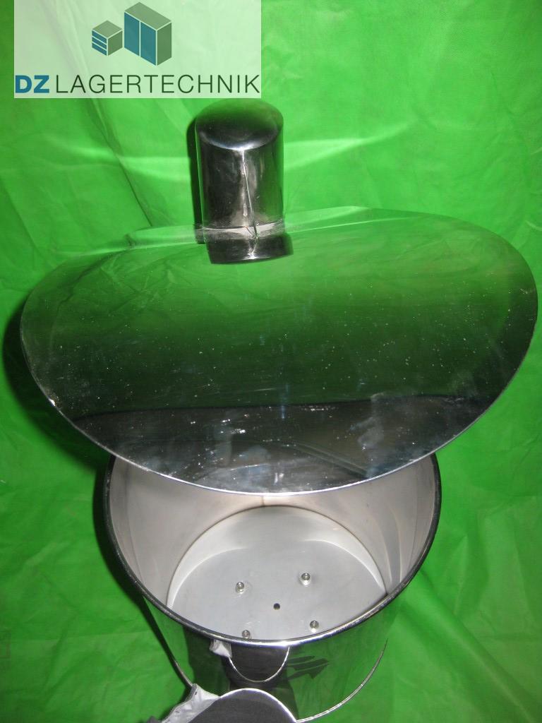 abfalleimer 30 liter f r den au enbereich dz lagertechnik. Black Bedroom Furniture Sets. Home Design Ideas