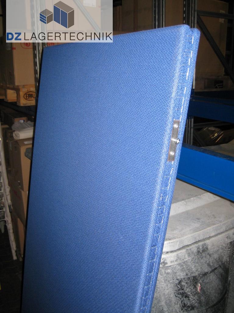 trennwand f r b ror ume in blau 1740x800 mm dz lagertechnik. Black Bedroom Furniture Sets. Home Design Ideas