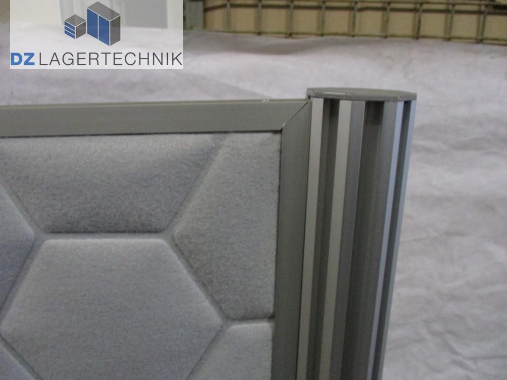 b ro trennwand in grau 1470x665x60 mm dz lagertechnik. Black Bedroom Furniture Sets. Home Design Ideas