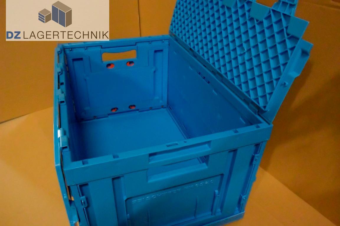 klappbox fk 6320 mit deckel in blau von ssi sch fer. Black Bedroom Furniture Sets. Home Design Ideas
