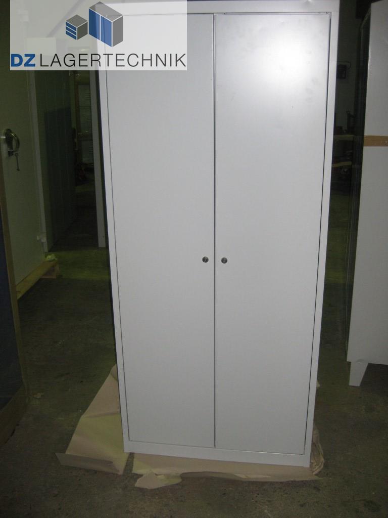2er spind aus metall 500x800x1810 mm dz lagertechnik. Black Bedroom Furniture Sets. Home Design Ideas