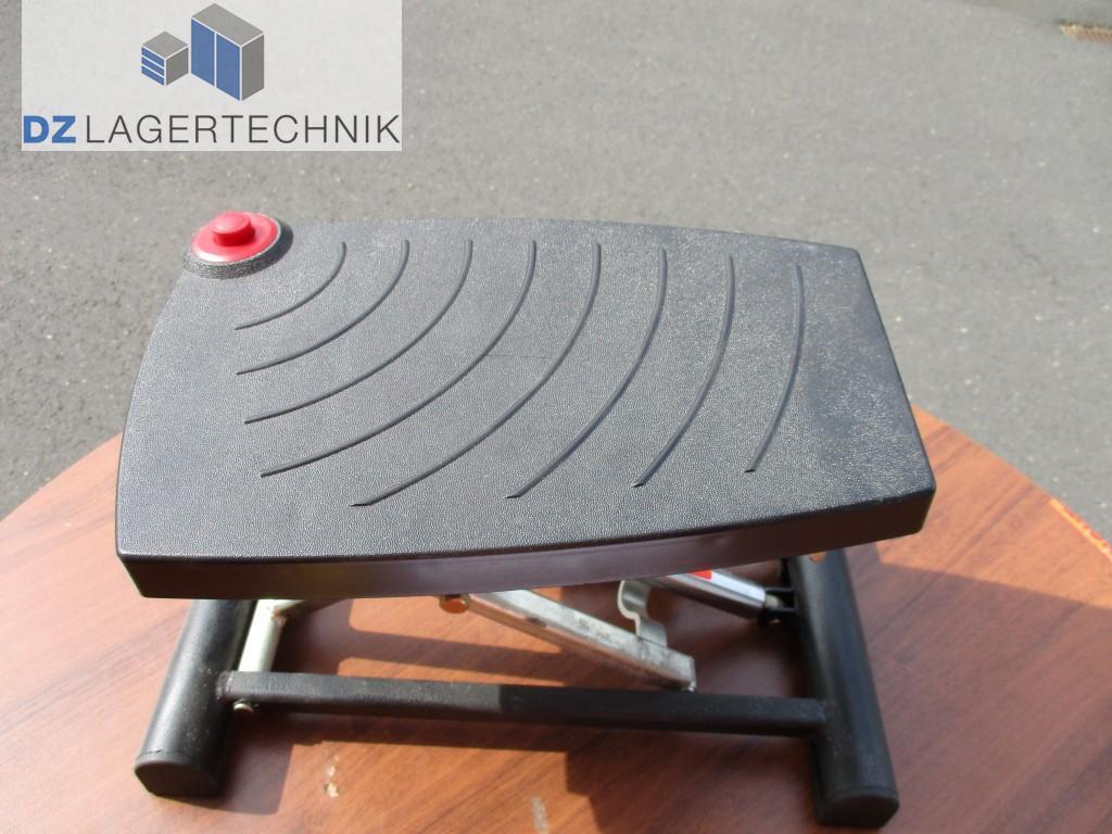 fu st tze efs 93 schwarz h henverstellbar dz lagertechnik. Black Bedroom Furniture Sets. Home Design Ideas