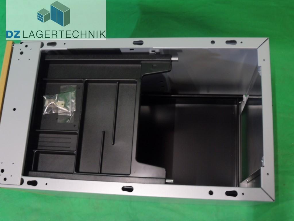 Schubladencontainer rc 9 mit 2 schubladen dz lagertechnik for Schubladen sortiersystem
