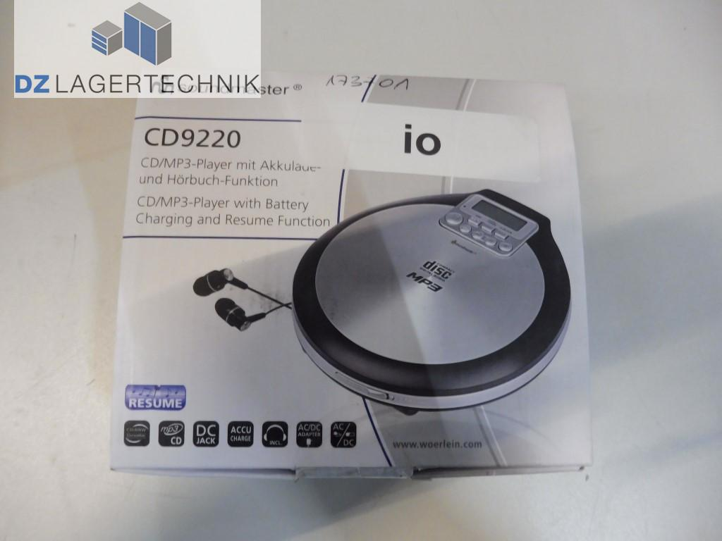 Soundmaster Cd9220 Tragbarer Cd Player Dz Lagertechnik